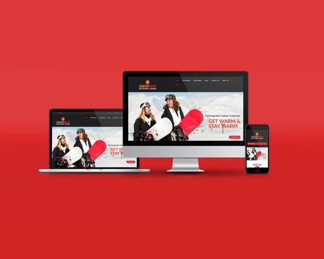 Heated outerwear website